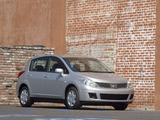 Nissan Versa Hatchback 2006–09 images