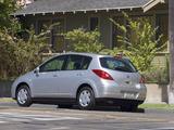 Nissan Versa Hatchback 2006–09 photos