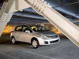 Nissan Versa Hatchback 2006–09 pictures