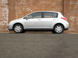 Nissan Versa Hatchback 2006–09 wallpapers