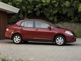 Nissan Versa Sedan 2009–11 pictures