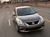 Nissan Versa Sedan (B17) 2011 images