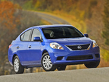 Nissan Versa Sedan (B17) 2011 photos