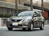 Nissan Versa Sedan BR-spec (B17) 2011 wallpapers