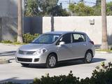 Photos of Nissan Versa Hatchback 2006–09