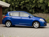 Nissan Versa Hatchback 2009 wallpapers
