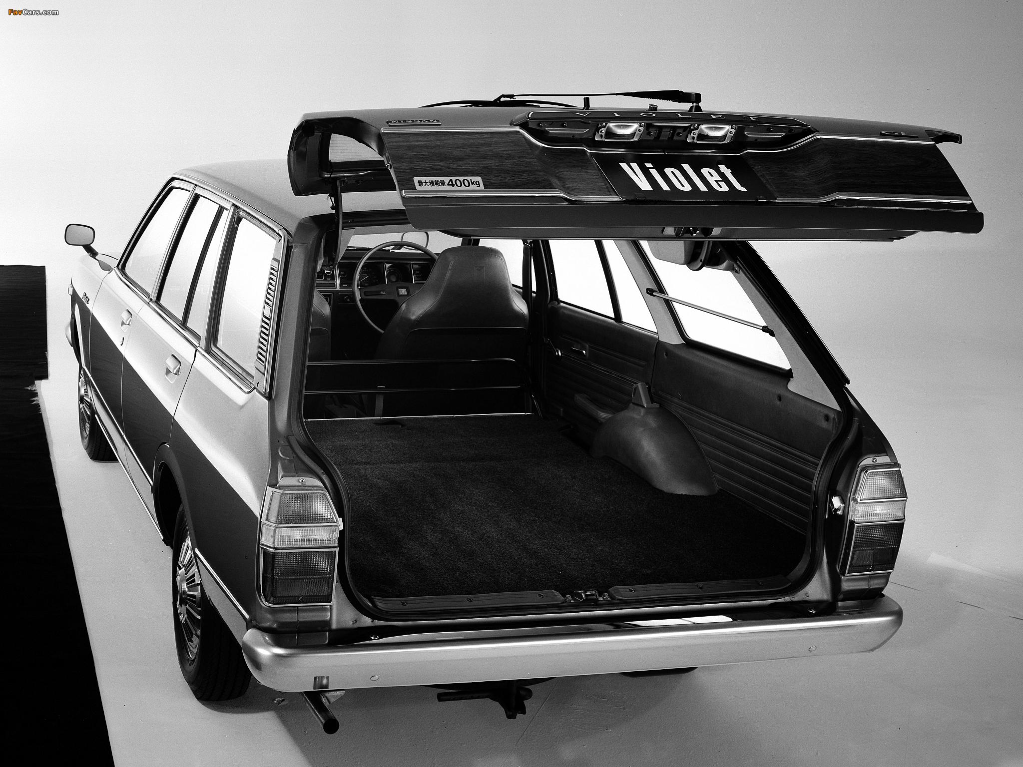 Images of Nissan Violet Van (A10) 1977–79 (2048 x 1536)