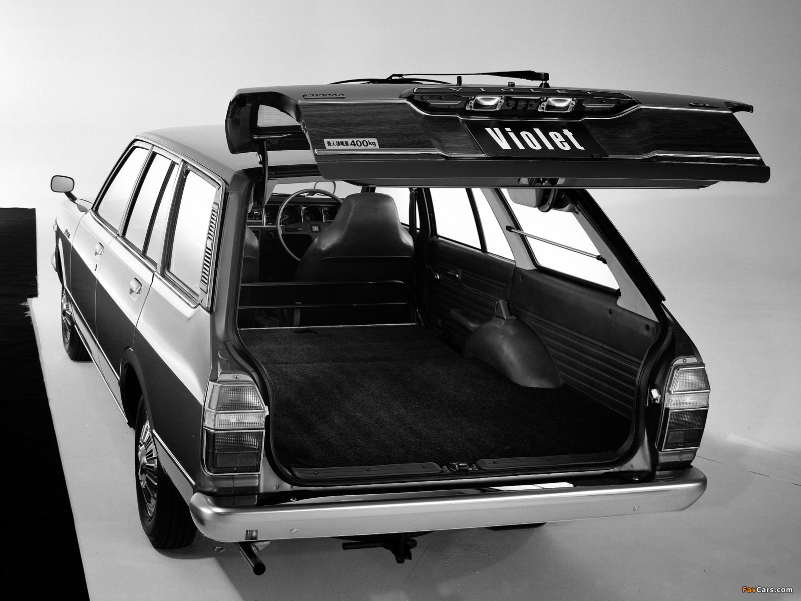 Images of Nissan Violet Van (A10) 1977–79 (1600 x 1200)