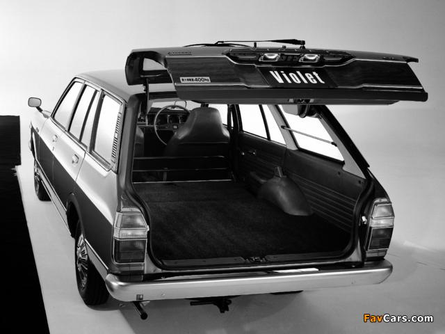 Images of Nissan Violet Van (A10) 1977–79 (640 x 480)