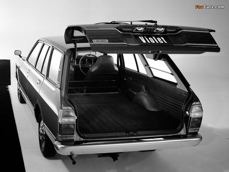Images of Nissan Violet Van (A10) 1977–79 (800 x 600)