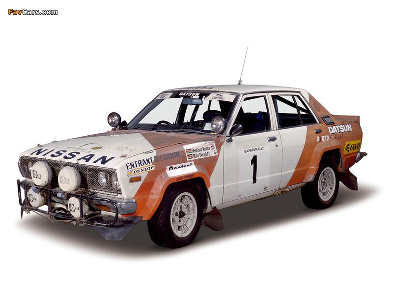 Photos of Nissan Violet Rally Car (A10) 1978–82 (800 x 600)