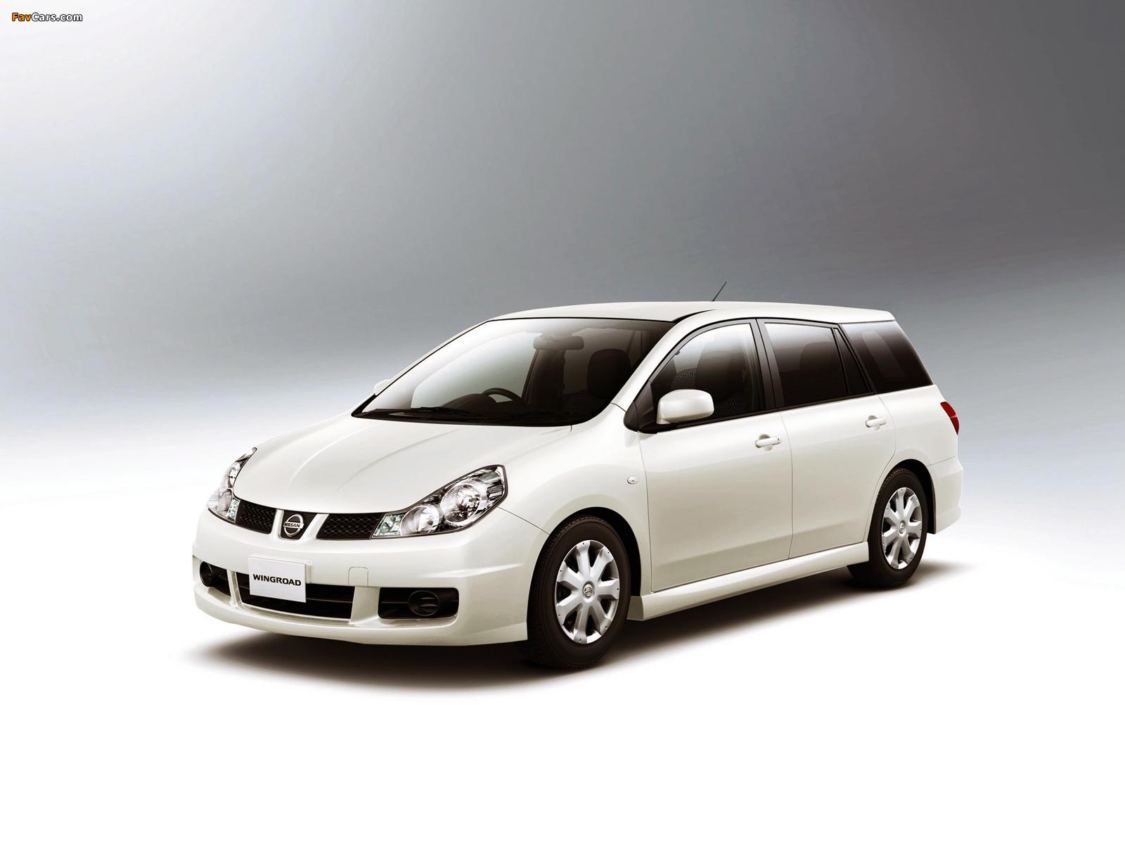 Nissan Wingroad Aero (Y12) 2005 images (1600 x 1200)