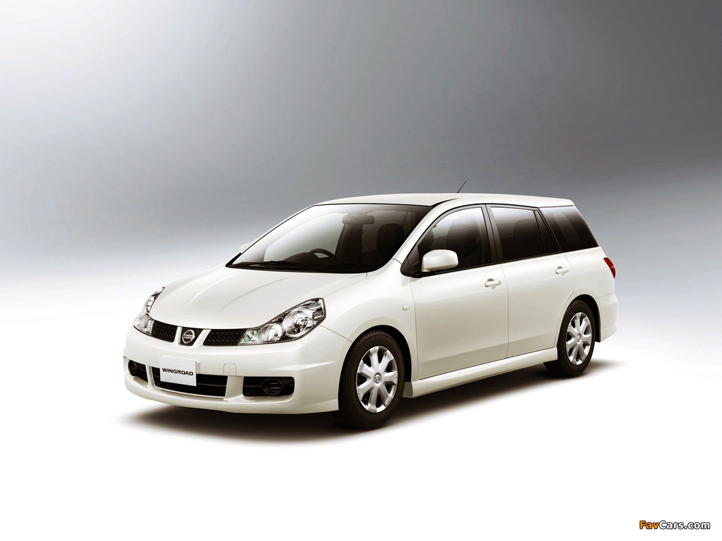 Nissan Wingroad Aero (Y12) 2005 images (1024 x 768)