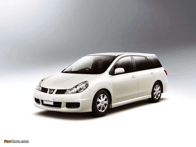 Nissan Wingroad Aero (Y12) 2005 images (800 x 600)