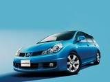 Nissan Wingroad Aero (Y12) 2005 wallpapers