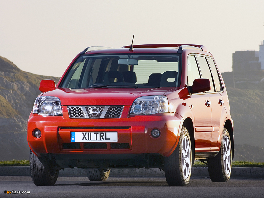 Images of Nissan X-Trail Columbia UK-spec (T30) 2006–07 (1024 x 768)