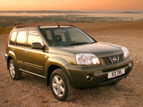 Nissan X-Trail UK-spec (T30) 2004–07 pictures