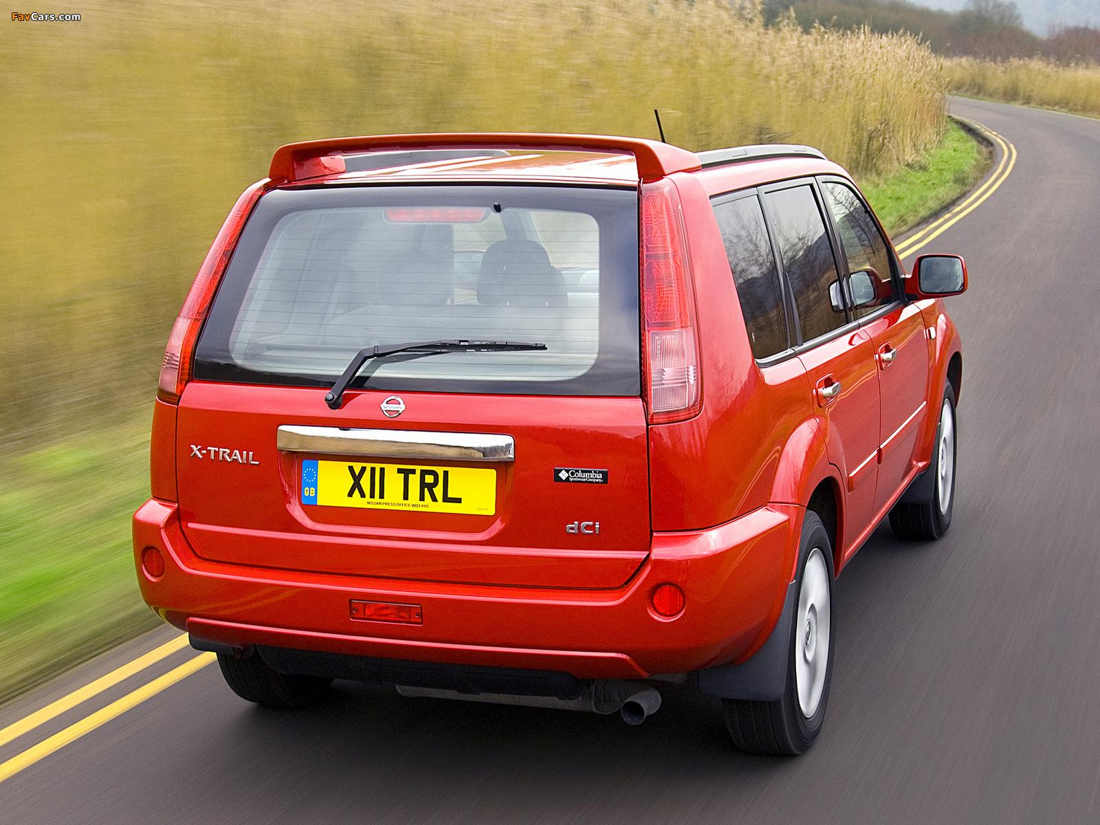 Nissan X-Trail Columbia UK-spec (T30) 2006–07 photos (1600 x 1200)