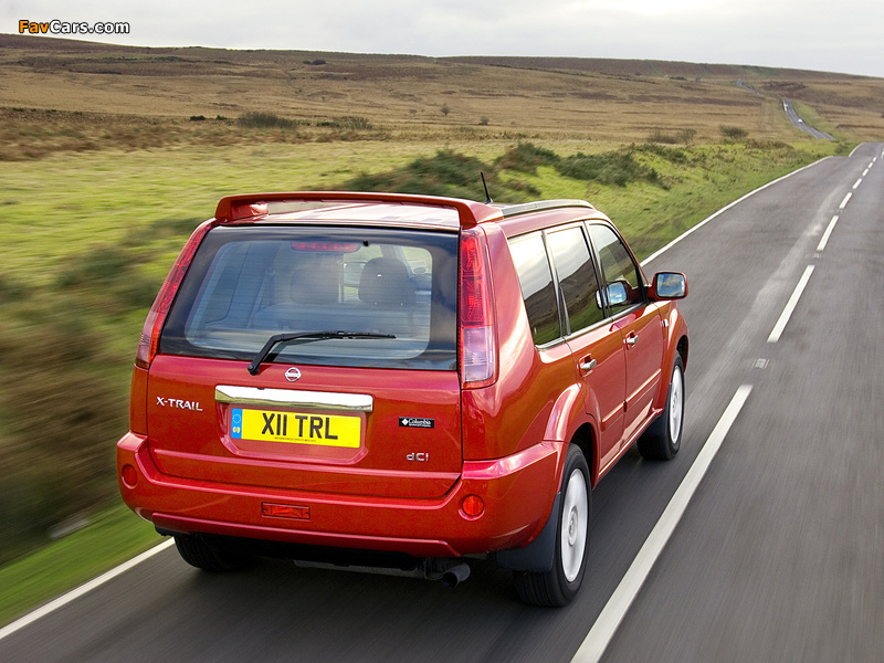 Photos of Nissan X-Trail Columbia UK-spec (T30) 2006–07 (800 x 600)