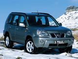 Nissan X-Trail UK-spec (T30) 2001–04 wallpapers
