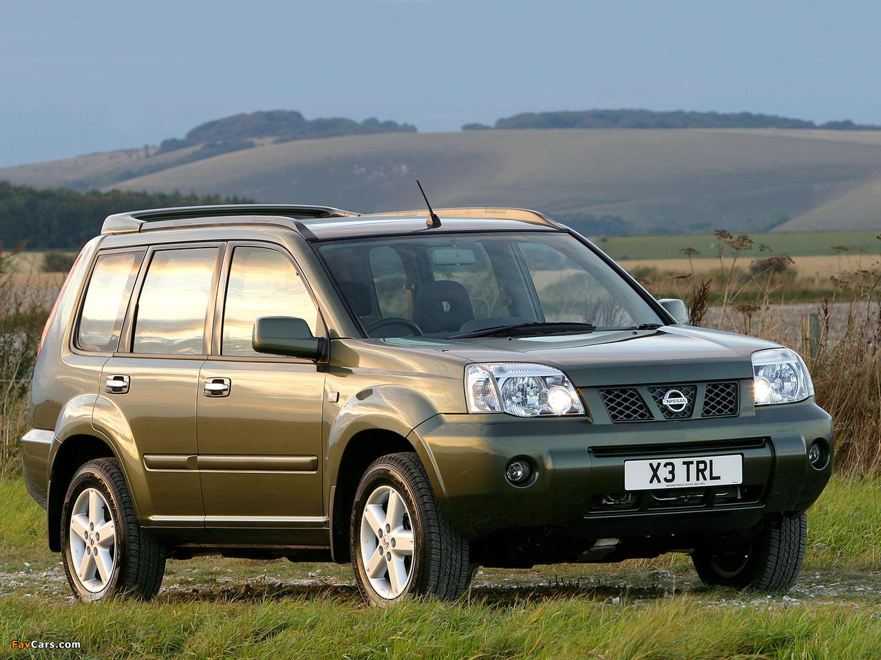 Nissan X-Trail UK-spec (T30) 2004–07 wallpapers (1280 x 960)
