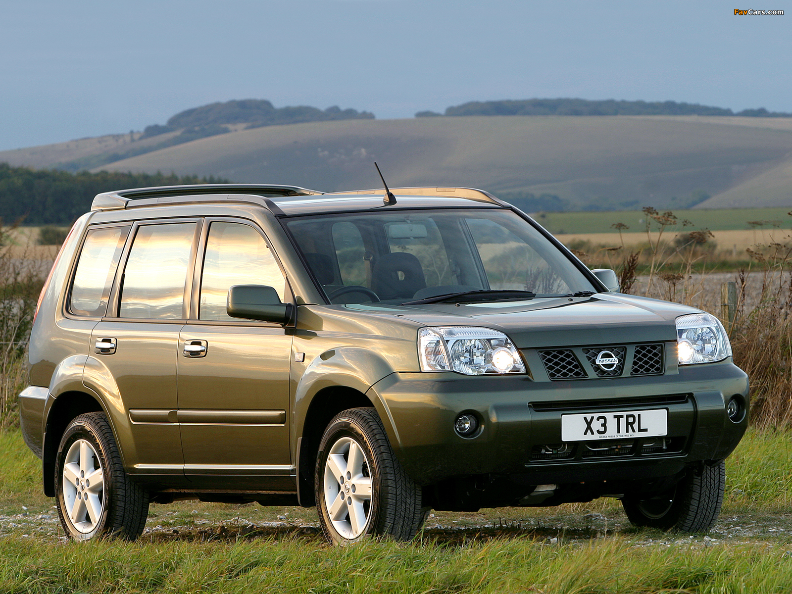 Nissan X-Trail UK-spec (T30) 2004–07 wallpapers (1600 x 1200)