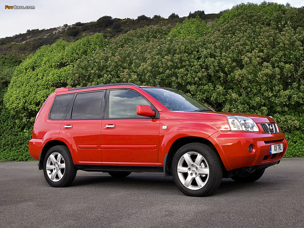 Nissan X-Trail Columbia UK-spec (T30) 2006–07 wallpapers (1024 x 768)