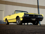 Images of Oldsmobile Cutlass 442 Convertible 1966