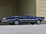 Images of Oldsmobile Cutlass 442 Convertible (3867) 1967