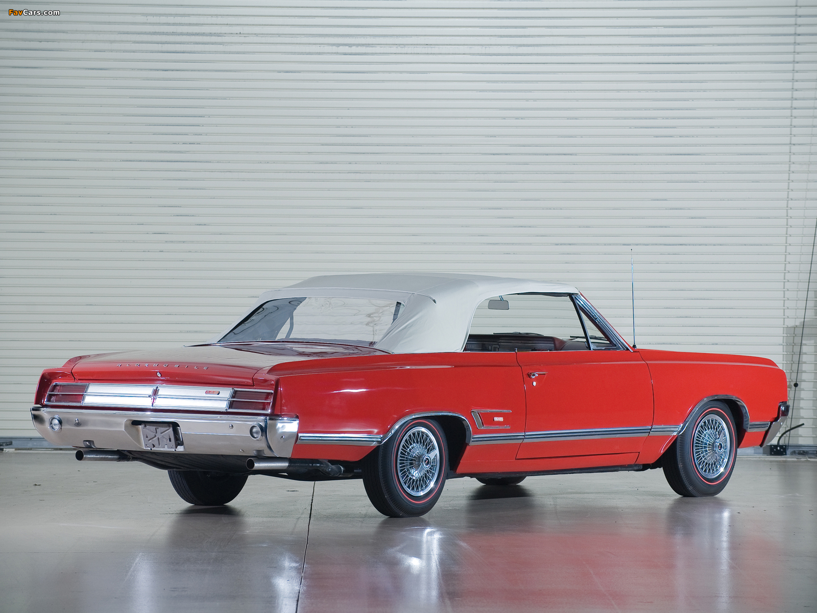 Oldsmobile Cutlass 442 Convertible 1965 images (1600 x 1200)