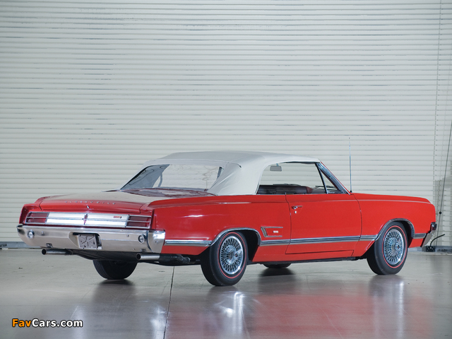 Oldsmobile Cutlass 442 Convertible 1965 images (640 x 480)