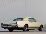 Oldsmobile Cutlass 442 Convertible 1967 wallpapers