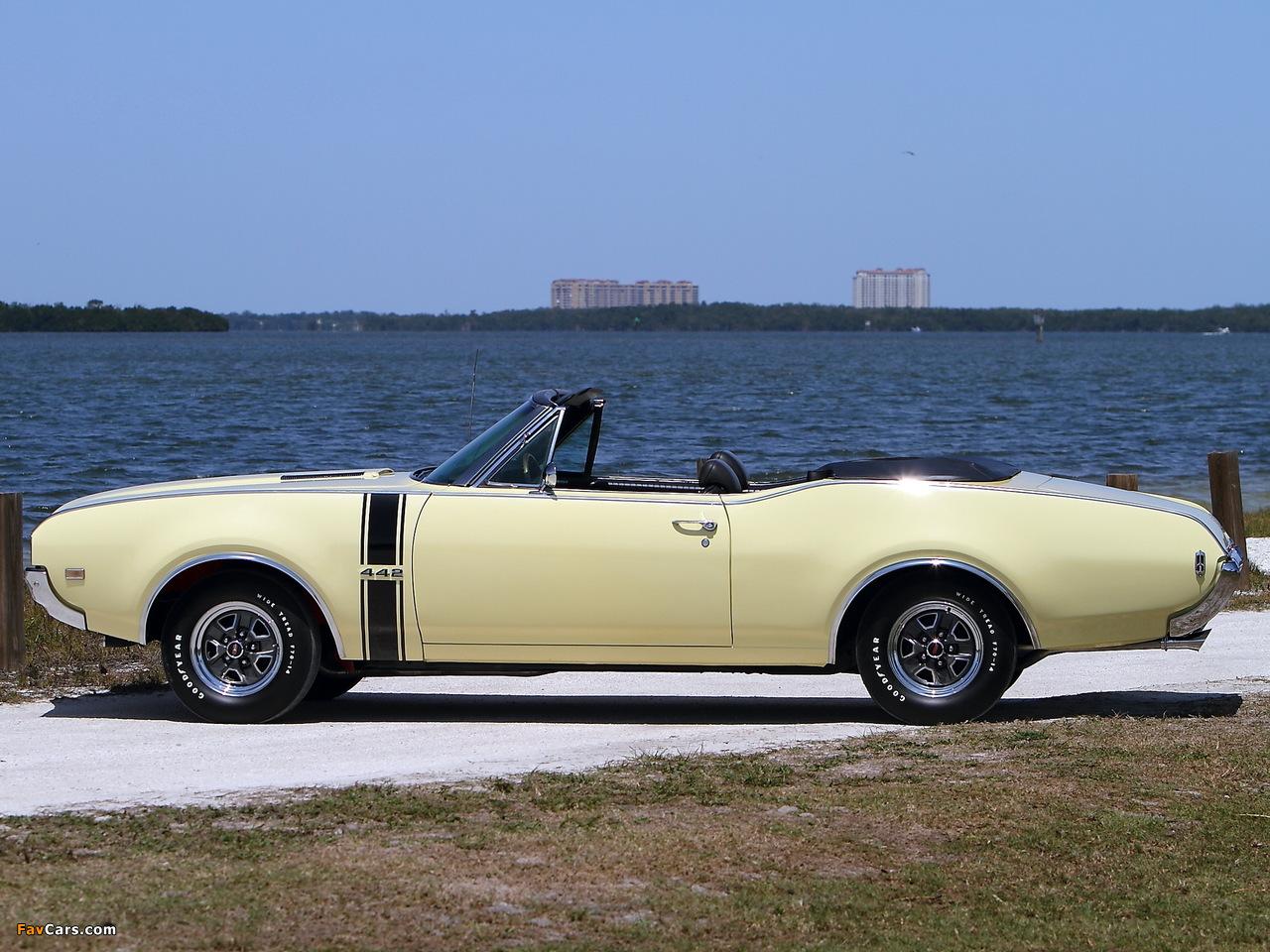 Oldsmobile 442 Convertible (4467) 1968 photos (1280 x 960)