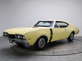 Oldsmobile 442 Holiday Coupe (4487) 1968 wallpapers