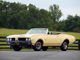 Oldsmobile 442 W-30 Convertible (4467) 1969 images