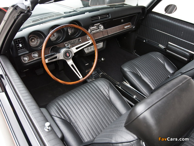 Oldsmobile 442 Convertible (4467) 1969 pictures (640 x 480)