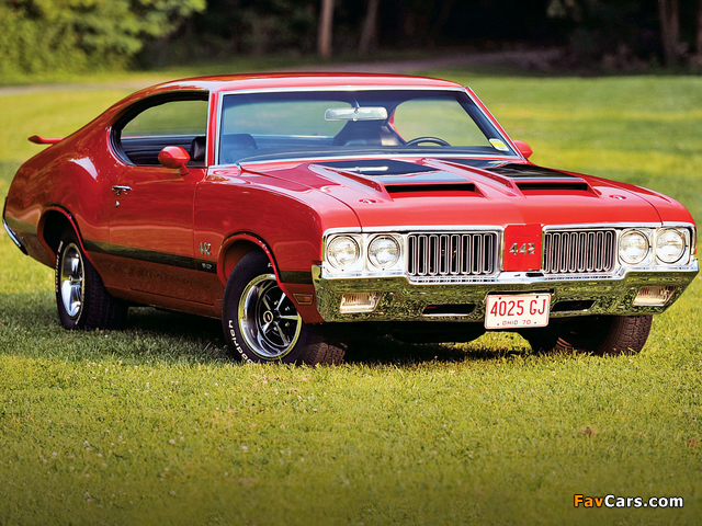 Oldsmobile 442 W-30 Holiday Coupe (4487) 1970 images (640 x 480)