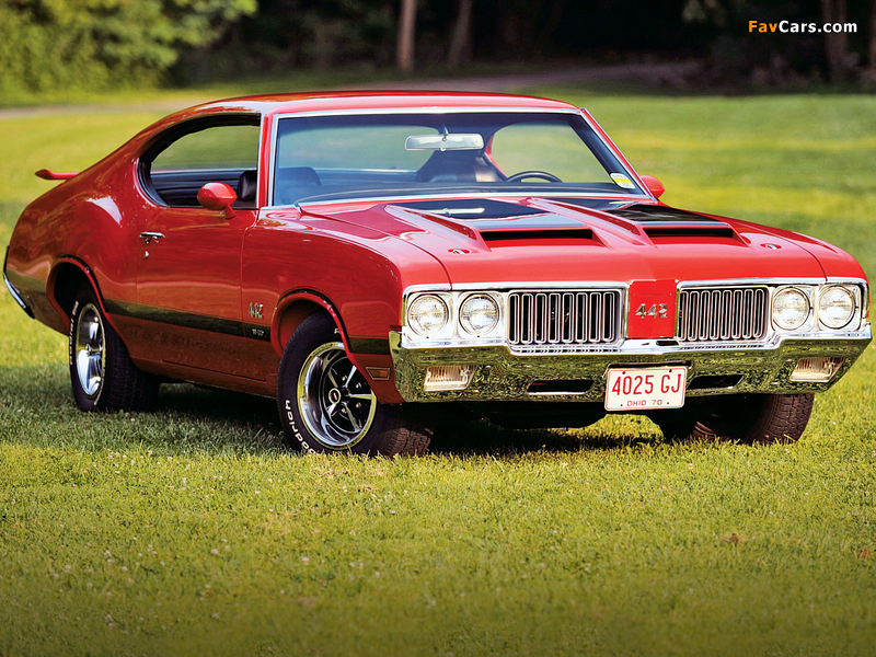 Oldsmobile 442 W-30 Holiday Coupe (4487) 1970 images (800 x 600)