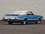Oldsmobile 442 W-30 Convertible (4467) 1971 images