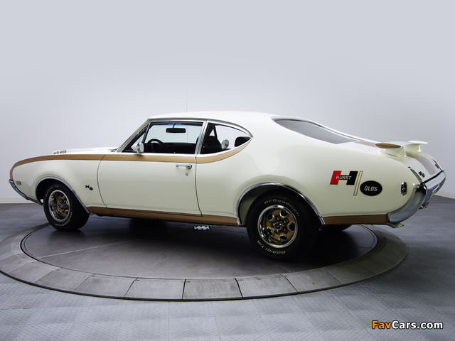Pictures of Hurst/Olds 442 Holiday Coupe (4487) 1969 (640 x 480)