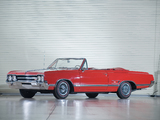 Oldsmobile Cutlass 442 Convertible 1965 wallpapers