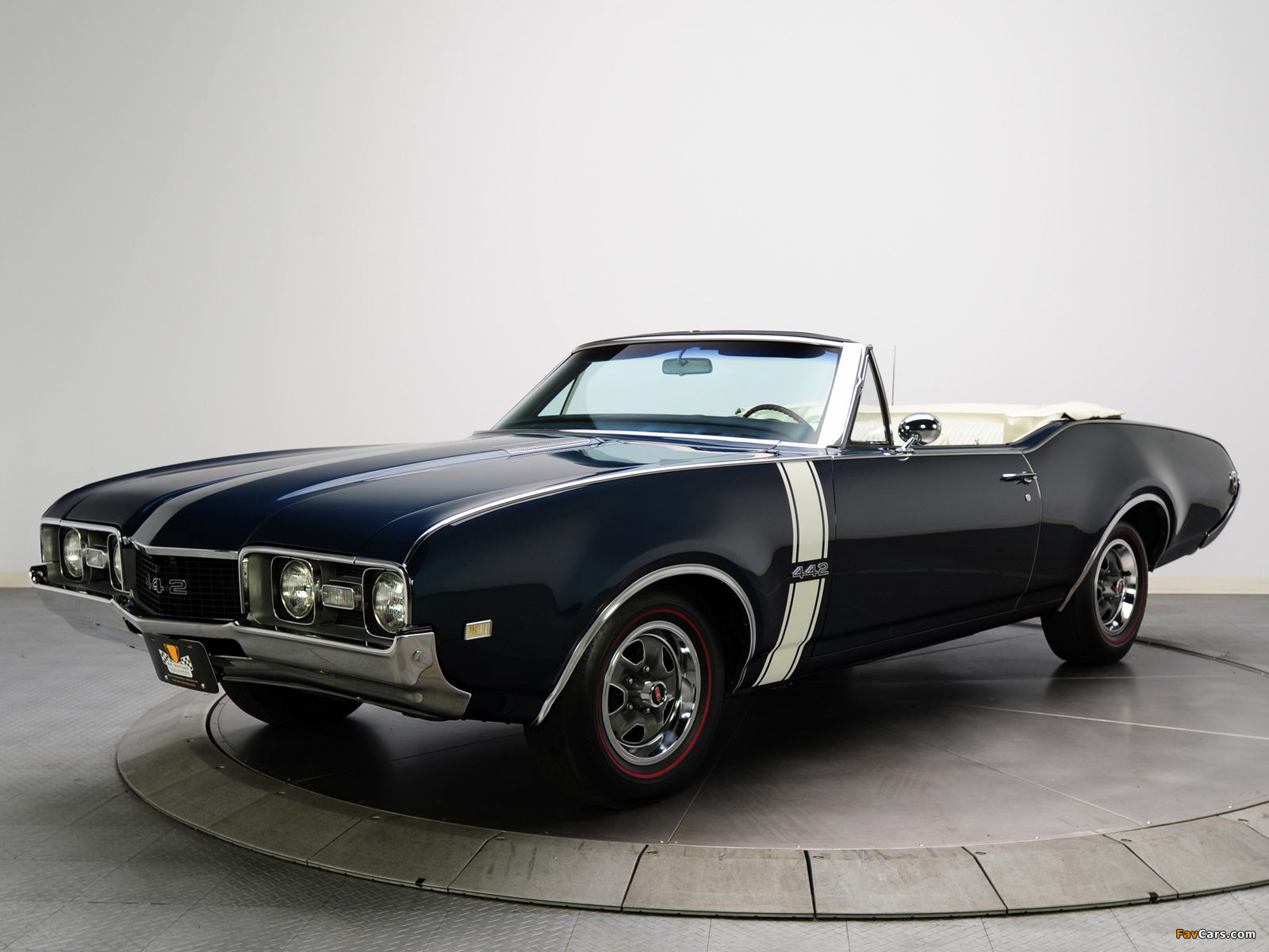 Oldsmobile 442 Convertible (4467) 1968 wallpapers (1600 x 1200)