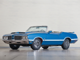 Oldsmobile 442 W-30 Convertible (4467) 1970 wallpapers