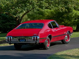 Oldsmobile 442 W-30 Sport Coupe (4477) 1970 wallpapers