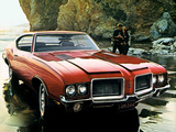 Oldsmobile Cutlass 442 W-29 Hardtop Coupe 1972 wallpapers