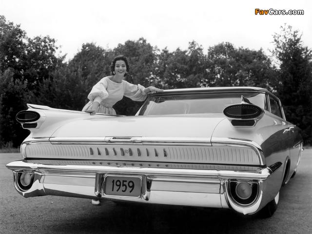 Images of Oldsmobile Super 88 Holiday Sport Sedan (3539) 1959 (640 x 480)