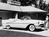 Oldsmobile Super 88 Convertible (3667DTX) 1955 photos