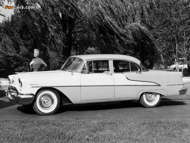 Oldsmobile 98 Sedan (3069D) 1955 wallpapers (640 x 480)
