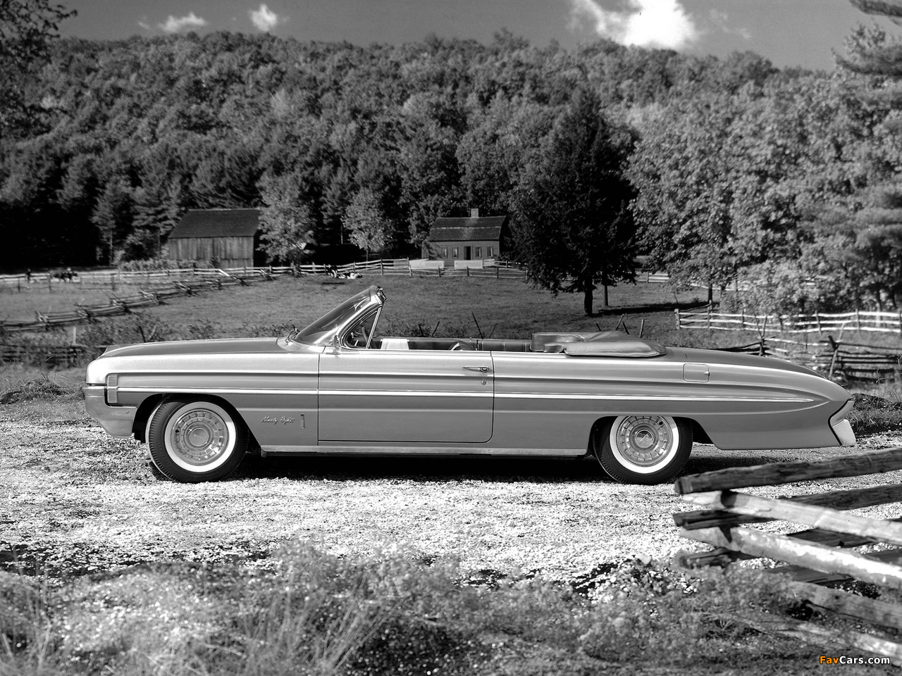 Oldsmobile 98 Convertible (3867) 1961 wallpapers (1280 x 960)