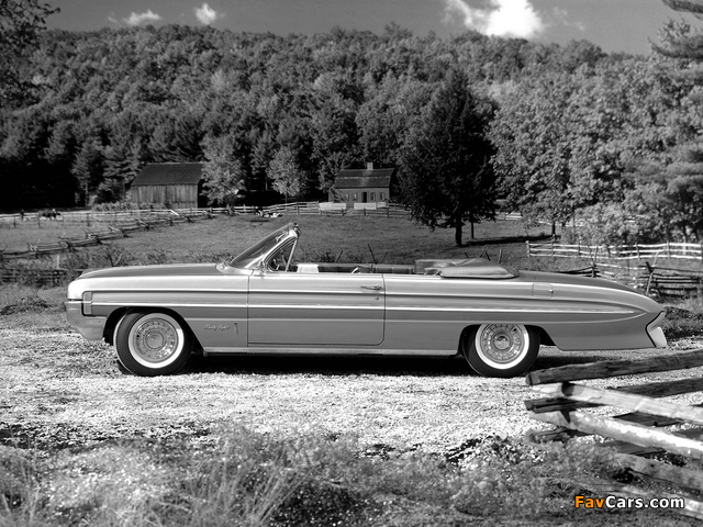 Oldsmobile 98 Convertible (3867) 1961 wallpapers (640 x 480)